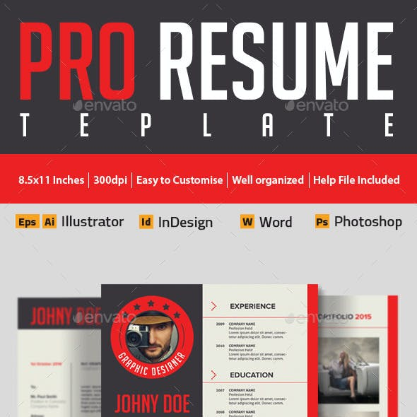 Modern And Profesional Resume Cv