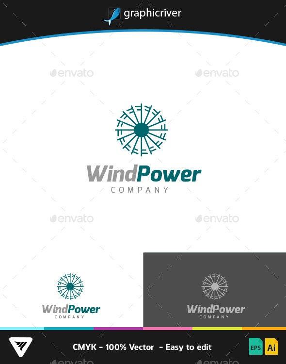 WindPower Logo - Logo Templates