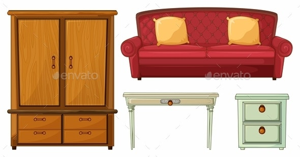 Furniture - Man-made Objects Objects