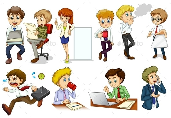 Business Minded People - People Characters