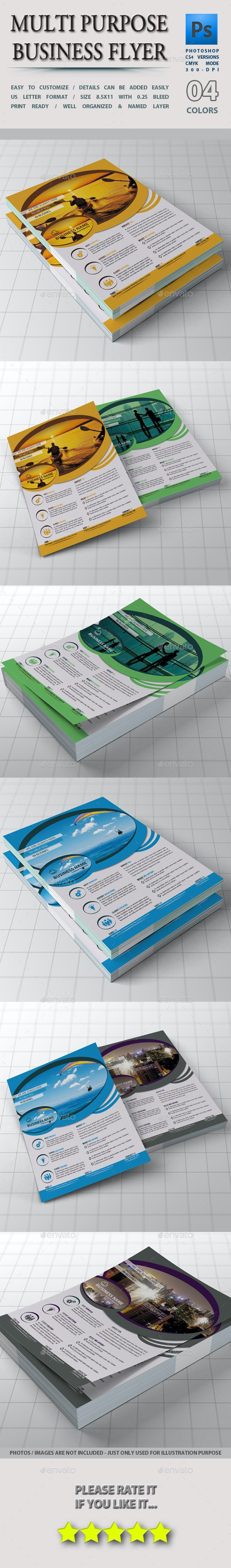 Multi-Purpose Business Flyer - Corporate Flyers
