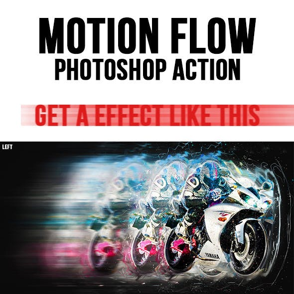 Motionflow Photoshop Action