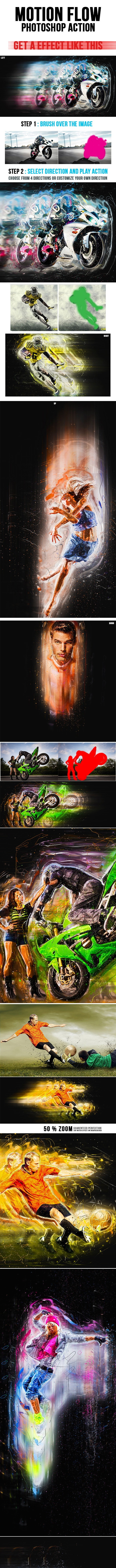Motionflow Photoshop Action - Photo Effects Actions