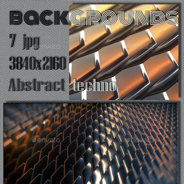 Abstract 3D Steel Collection