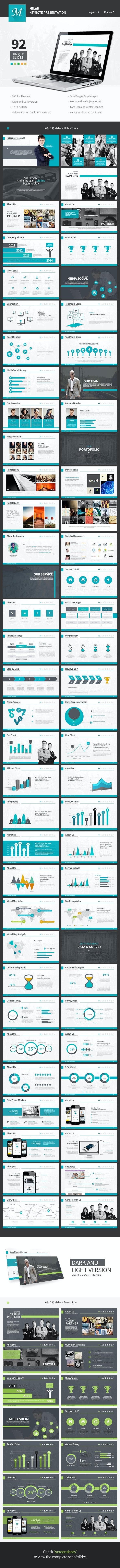 Milad - Creative Keynote Template - Business Keynote Templates