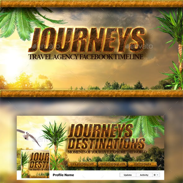 Travel Agency FB Cover
