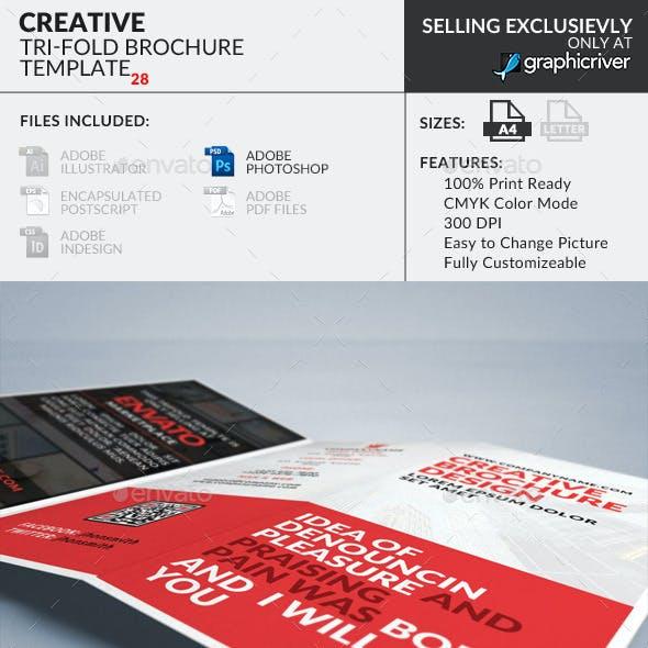 Trifold Brochure 28 : Creative