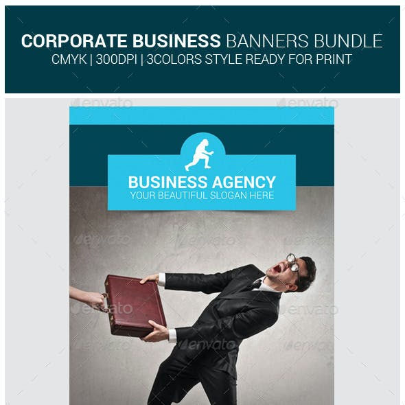 Corporate Business Rollup Banners Bundle