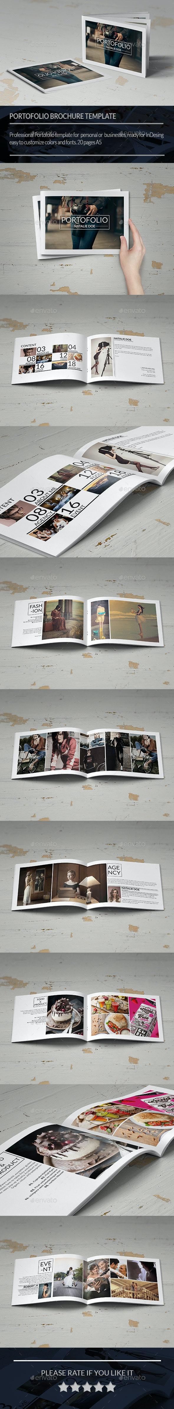 Minimal Portofolio Brochure - Portfolio Brochures