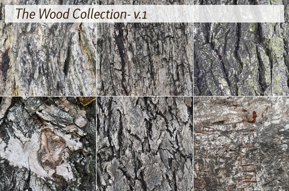 The Wood Collection - v.1 - Wood Textures