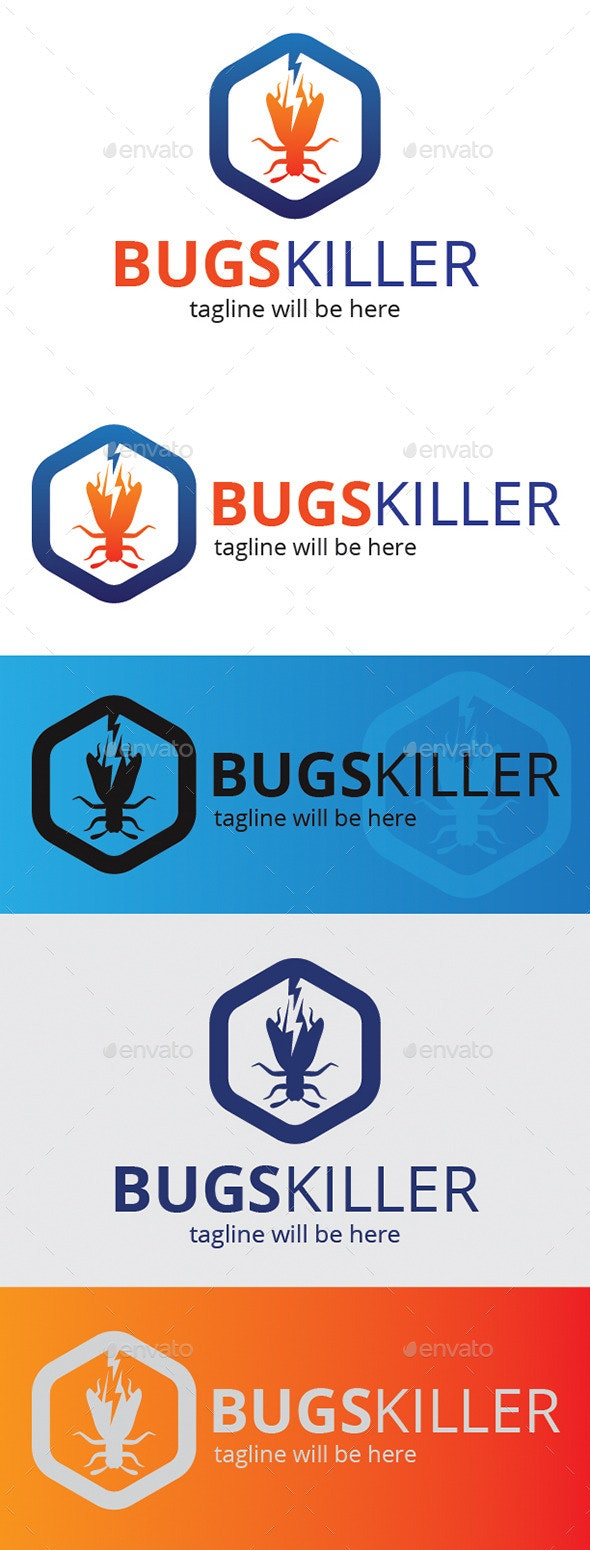 Bugs Killer - Logo Templates