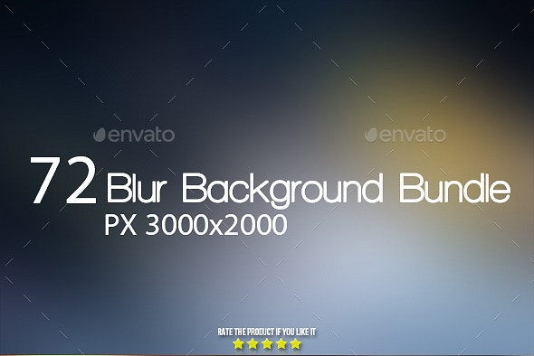 72 Smooth Blur Background Bundle - Abstract Backgrounds
