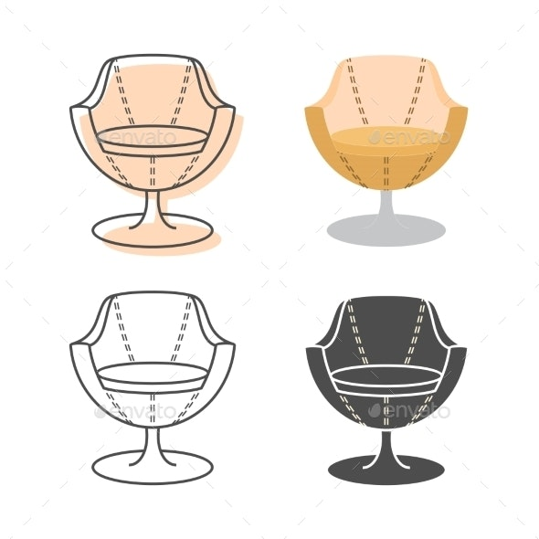 Armchairs - Objects Vectors