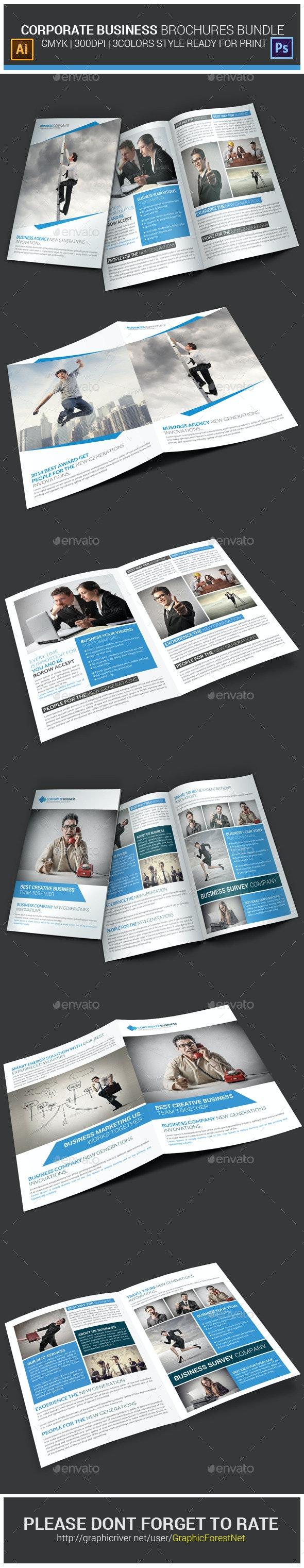 Corporate Business Brochures Bundle - Corporate Brochures