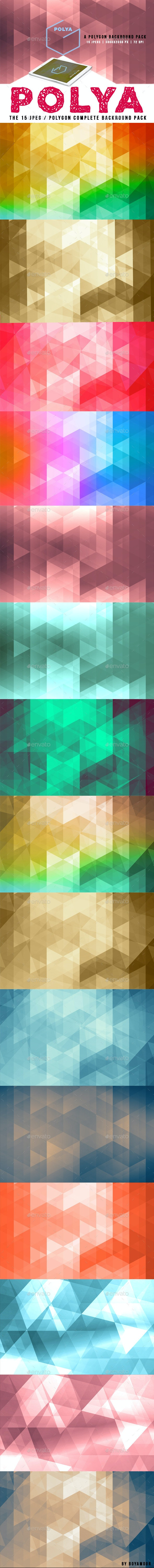 Polya Background Pack - Abstract Backgrounds