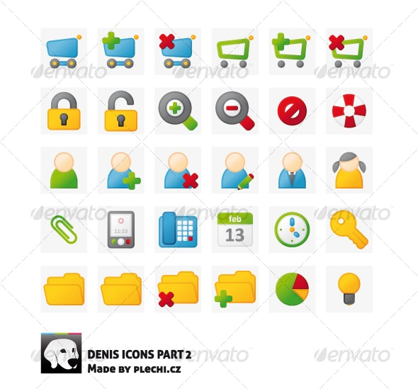 Denis icons part 2 - Web Icons
