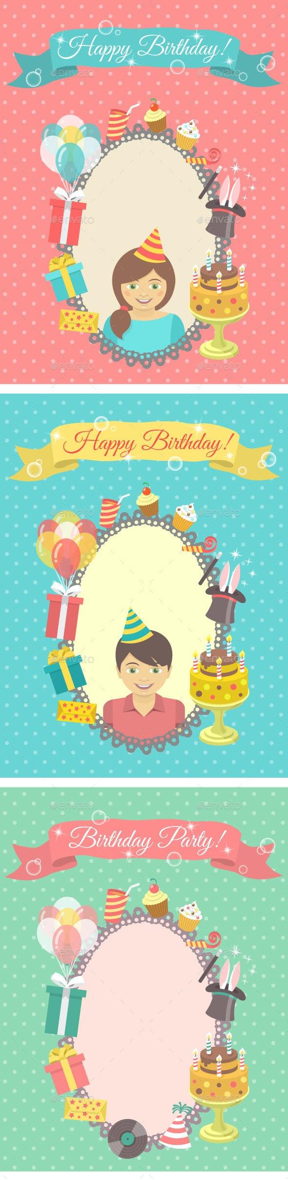 Happy Birthday Cards Collection - Birthdays Seasons/Holidays