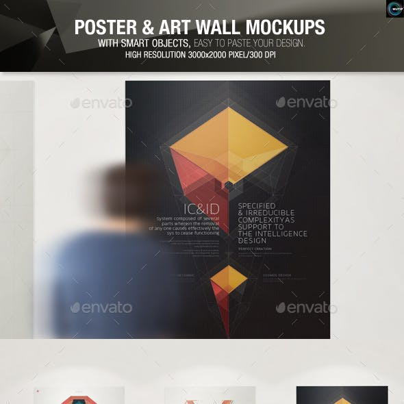 Poster and Art Wall Mockups