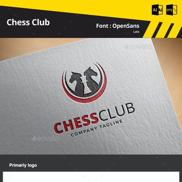 Chess Club Logo Template
