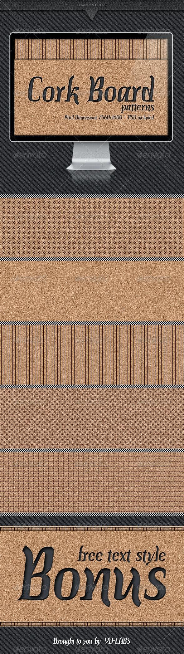 Cork Board Patterns - Patterns Backgrounds