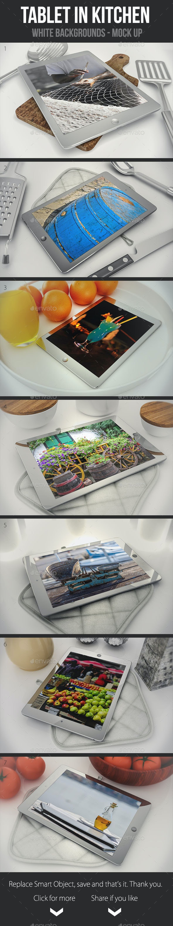 Tablets in The Kitchen - Mobile Displays
