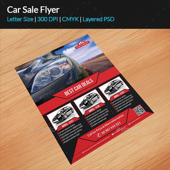 Car Sale Flyer