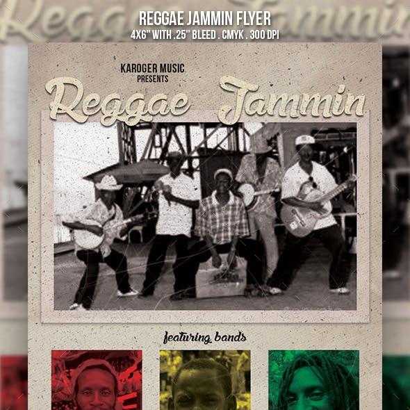 Reggae Jammin Flyer