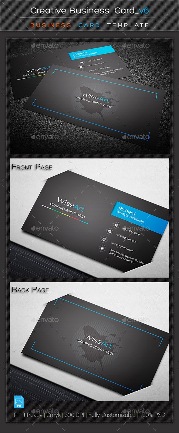 Creative Business Card_v6 - Creative Business Cards