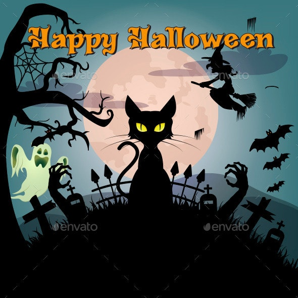 Happy Halloween - Vectors