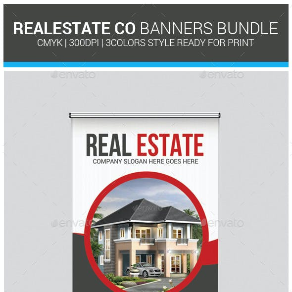 Real Estate Rollup Banners Bundle