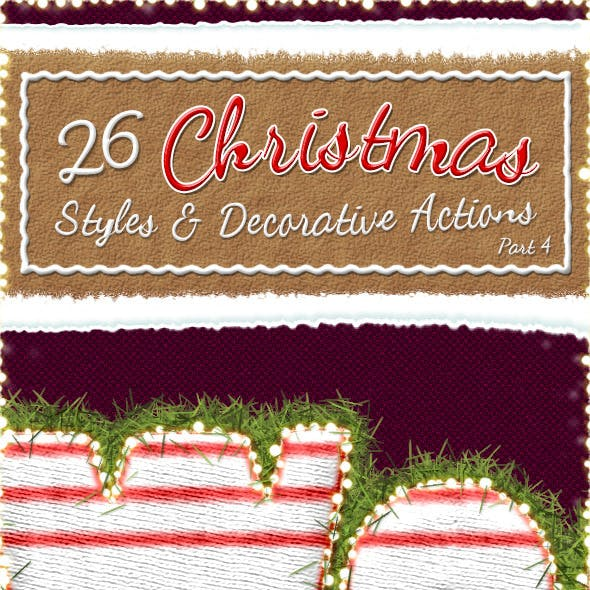Christmas And Winter Styles And Actions 4