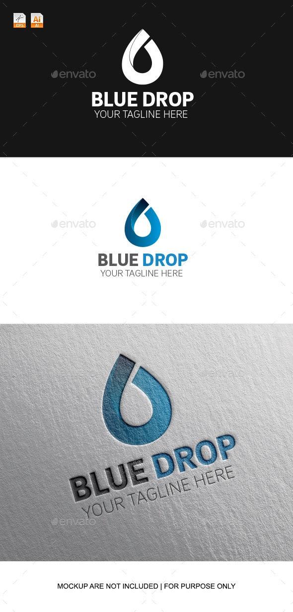 Blue Drop - Objects Logo Templates