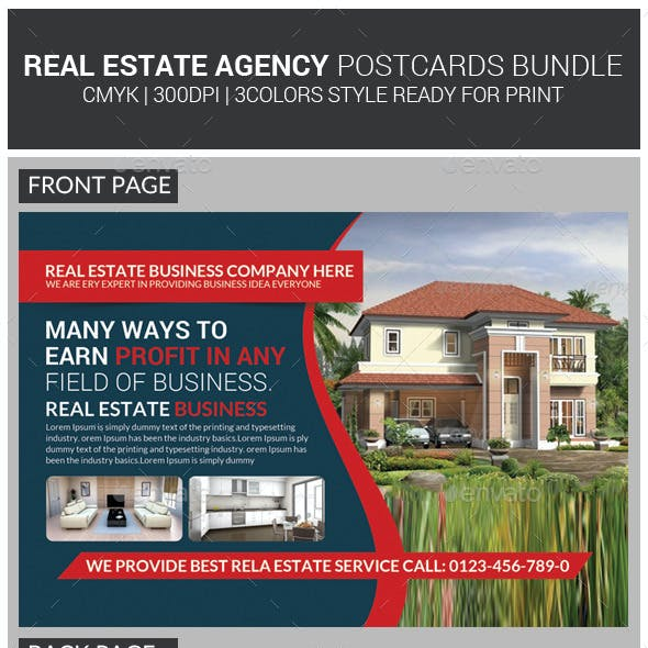 Real Estate Postcards Bundle
