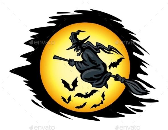 Halloween Witch - Halloween Seasons/Holidays