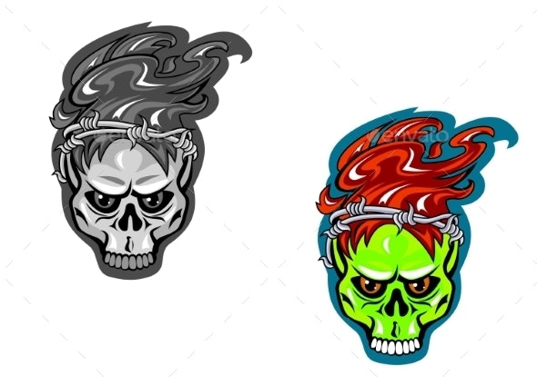 Skull Tattoos - Monsters Characters
