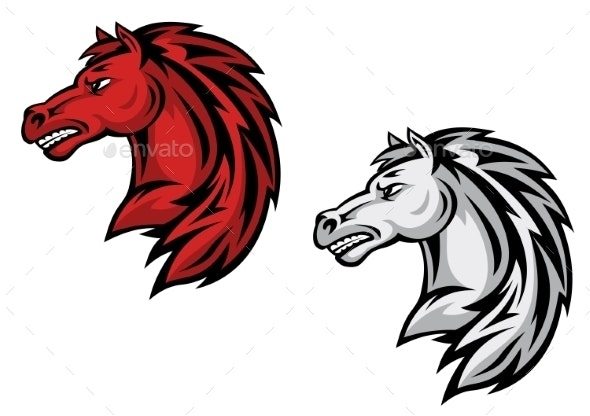 Horse Mascots - Animals Characters