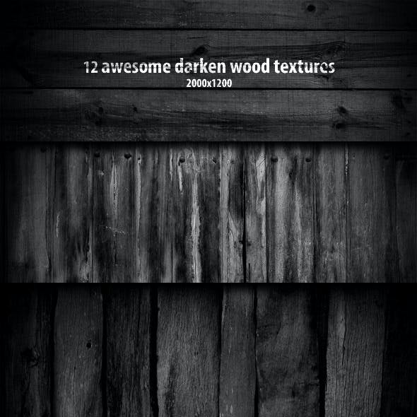 12 Darken Wood Textures