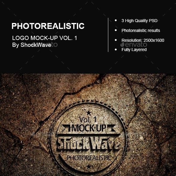 Photo-Realistic Logo Mock-Up Vol. 1