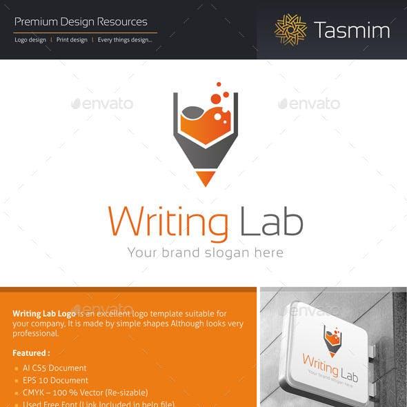 Writing Lab Logo Template