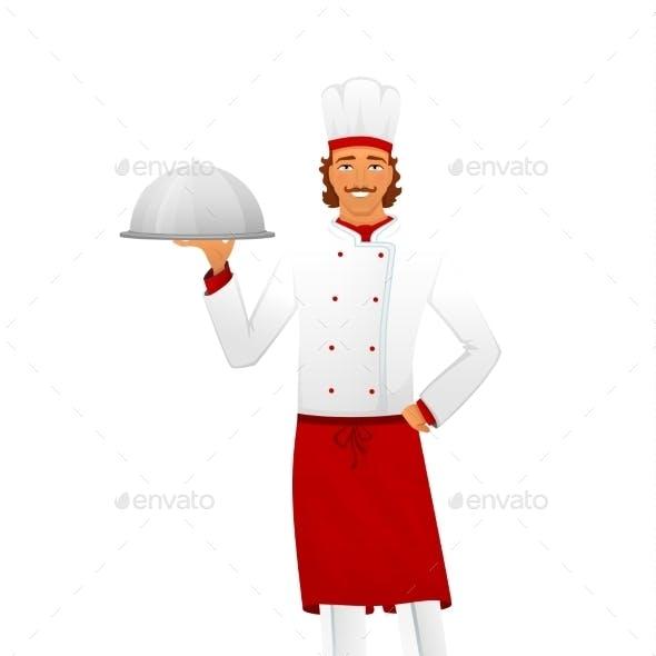 Male Chef in Uniform
