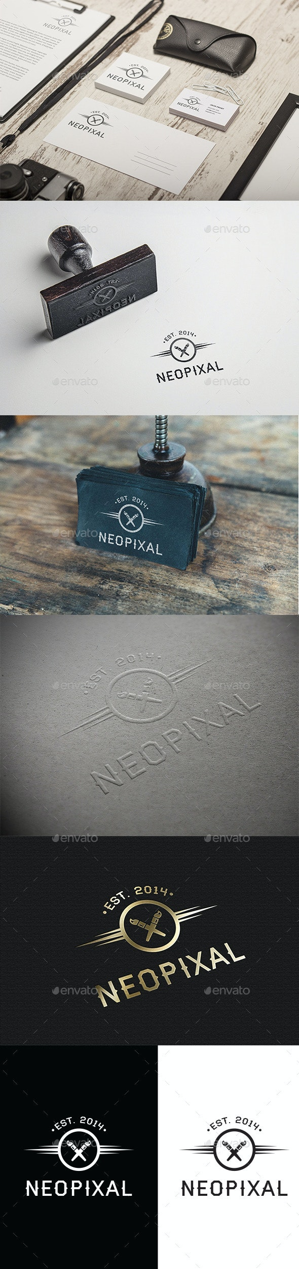 Neopixal - Symbols Logo Templates