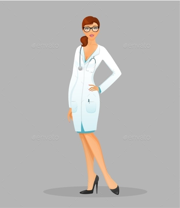 Doctor Woman - People Characters