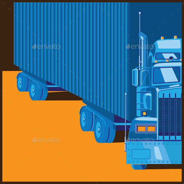 Big Truck - Conceptual Vectors