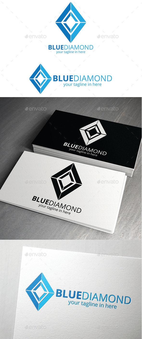 Blue Diamond Logo - Logo Templates