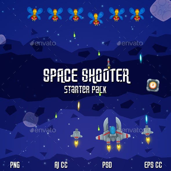 Space Shooter Starter Pack