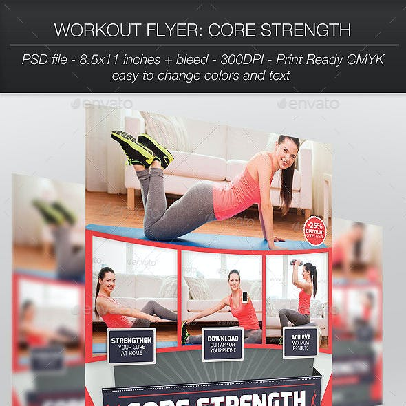 Workout Flyer: Core Strength