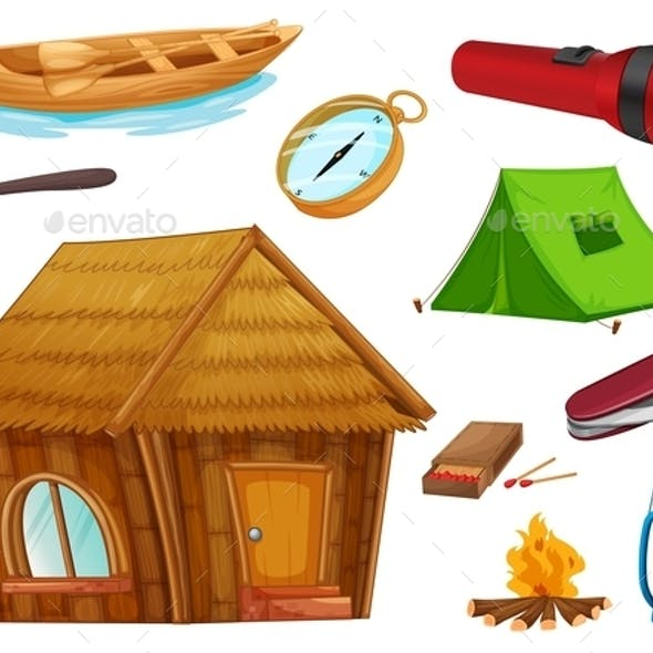Camping Objects