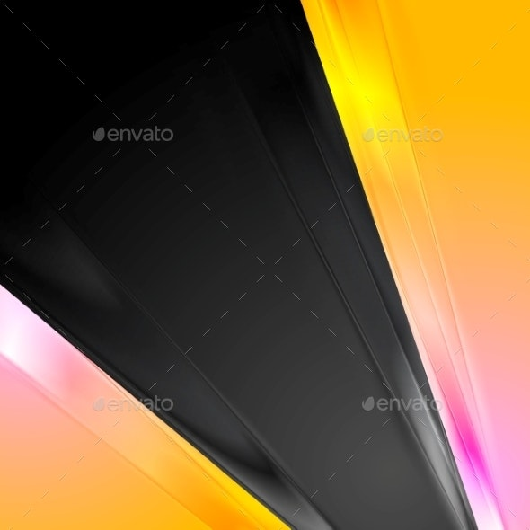 Pink and Yellow Background - Backgrounds Decorative
