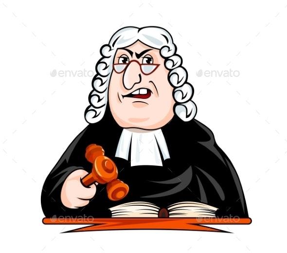 Judge Make Verdict - People Characters