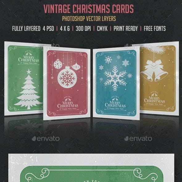 Vintage Christmas Cards/Invitation
